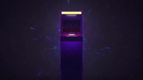 80s Arcade Logo Premiere Proテンプレート