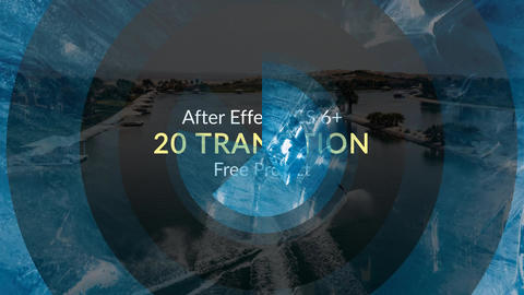 20 Transitions Free After Effects Template