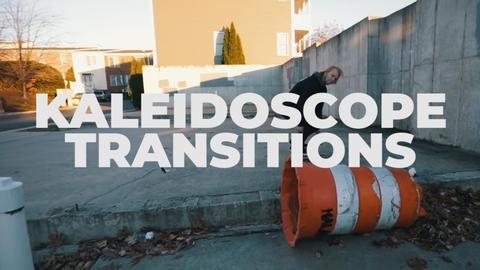 Kaleidoscope Transitions Premiere Proテンプレート