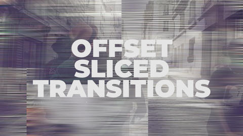 Offset Light Transitions Premiere Proテンプレート