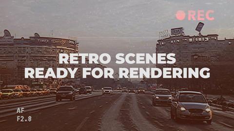 Retro Scenes Premiere Pro Template