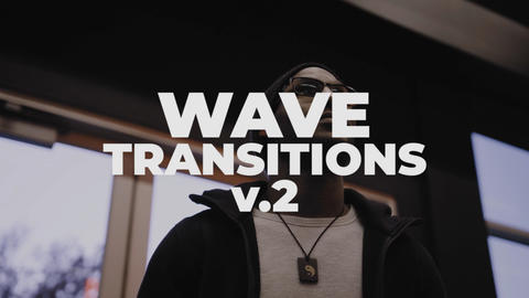 Wave Transitions V 2 Plantillas de Premiere Pro