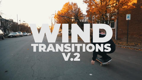 Wind Transitions V 2 Plantillas de Premiere Pro