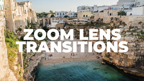 Zoom Lens Transitions Plantillas de Premiere Pro