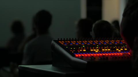 Sound Console Lights Live Action