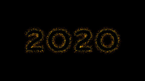 2020 Happy New Year animation Animation