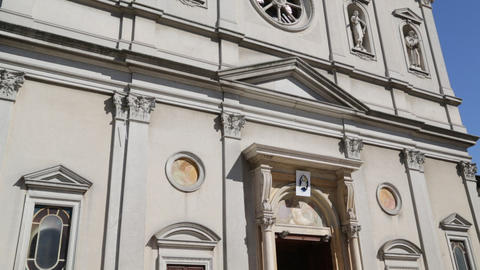 In italy ancient religion building 0011 Footage