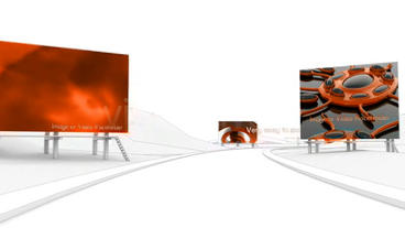 3d City animation - Fly Through Showcase Plantilla de After Effects