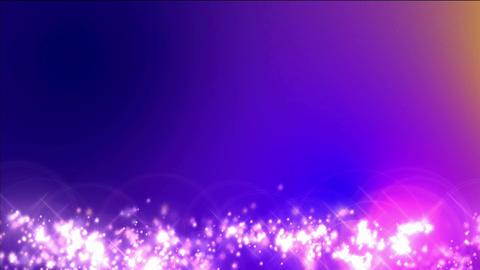 fireworks on blue pink background Animation
