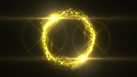 SHA Yellow Ring Effects Animation