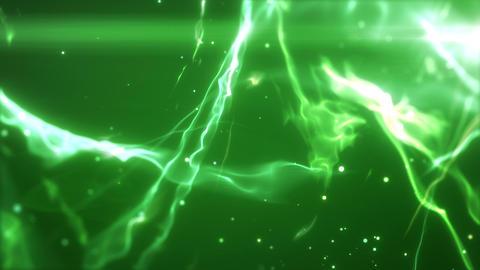 SHA Wave Flow ImageBG Green 動画素材, ムービー映像素材