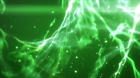 SHA Wave Flow ImageBG Green CG動画