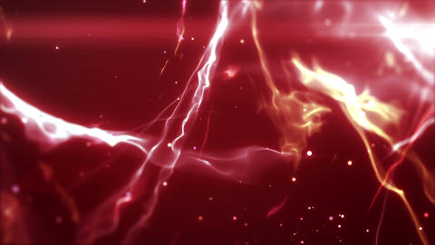 SHA Wave Flow ImageBG Red, CG動画素材