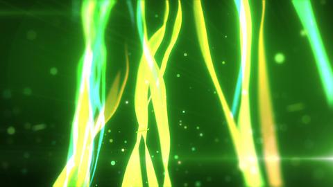 SHA wakame BG Effects Green CG動画
