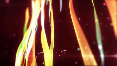 SHA wakame BG Effects Red 動画素材, ムービー映像素材