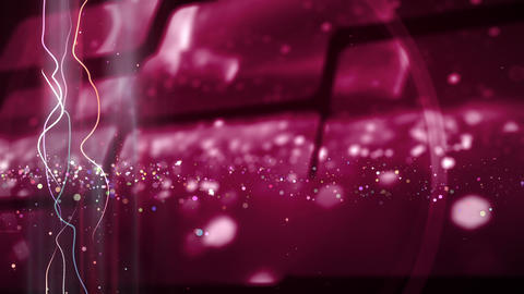 SHA Particle Image BG Pink Animation