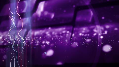 SHA Particle Image BG Vioret CG動画