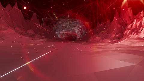 SHA Mountain BG Digital Image Red Animation