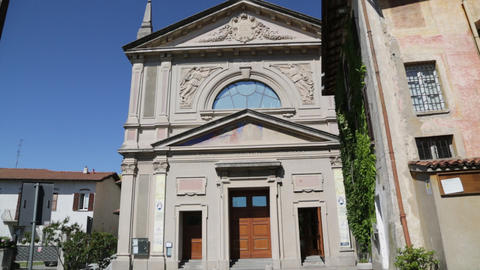 In italy ancient religion building 0040 Footage