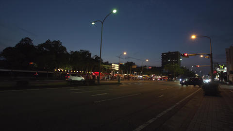 夜の祭りの風景 ライブ動画