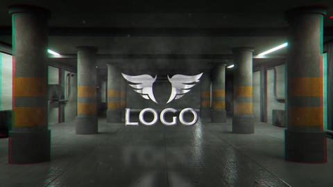 Garage Logo Reveal After Effects Template