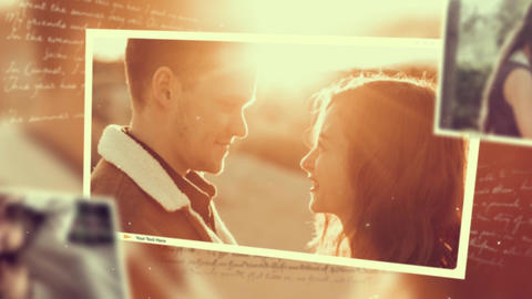 Love Memories After Effects Template