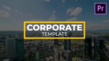 Big Corporate Titles モーショングラフィックステンプレート