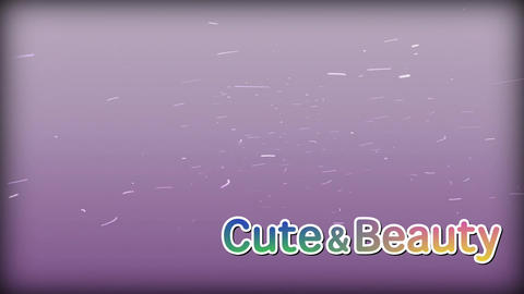 Cute Text and Particle After Effects Template