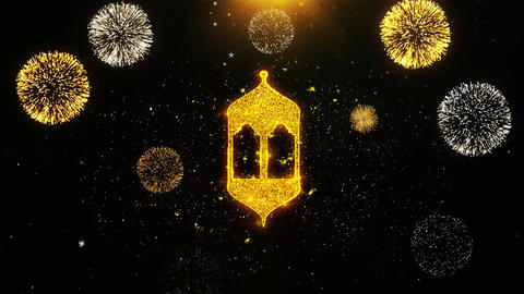 Islamic, islam, religious, Monument, Monuments Icon on Firework Display Live Action