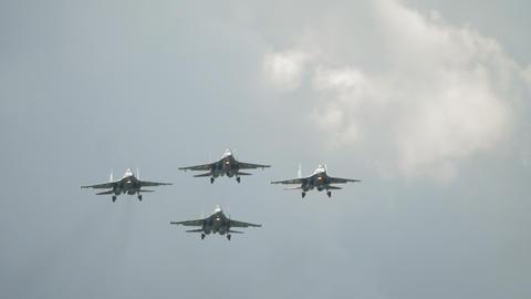 Military jets Squadron aerobatic team Live Action