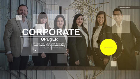 Opener Corporate After Effects Template