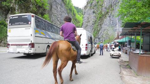 Tourist places of Abkhazia 001 Footage