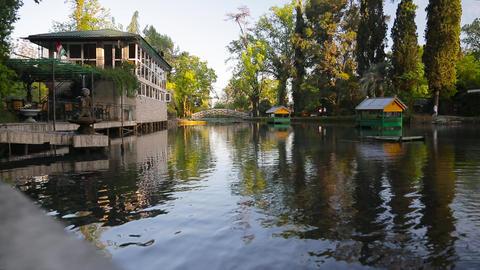 Tourist places of Abkhazia Footage