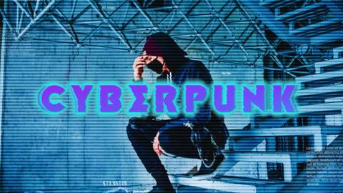 Cyberpunk Intro Premiere Proテンプレート