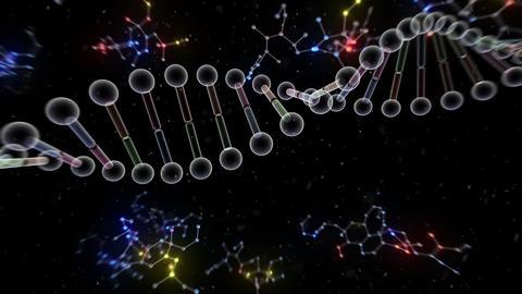 DNA Strand Genome image 6 B5c 4k Animation