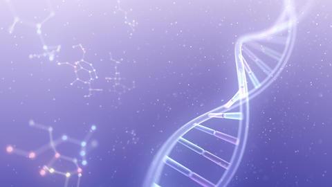 DNA Strand Genome image 6 DoF A4b 4k Animation