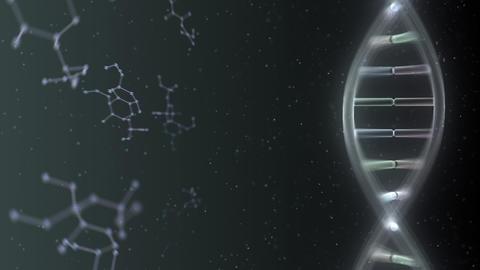 DNA Strand Genome image 6 DoF A2e 4k Animation