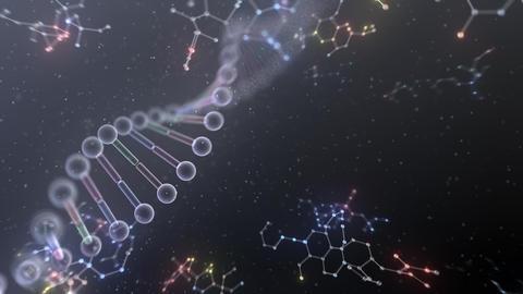 DNA Strand Genome image 6 DoF B4c 4k Animation
