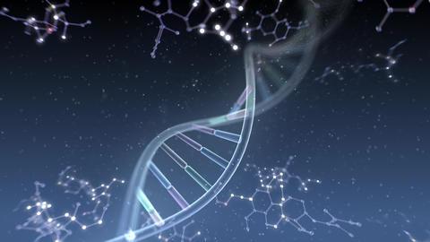 DNA Strand Genome image 6 DoF A4e 4k Animation