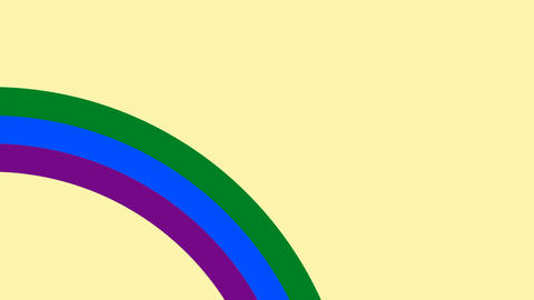 Concept LGBT minimal motion design animation Animation