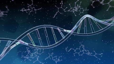 DNA Strand Genome image 6 A5b 4k Animation