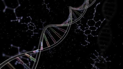 DNA Strand Genome image 6 A4e 4k Animation