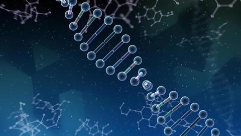 DNA Strand Genome image 6 B2b 4k Animation
