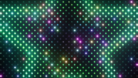 LED Wall 2 Star B Ar HD Stock Video Footage