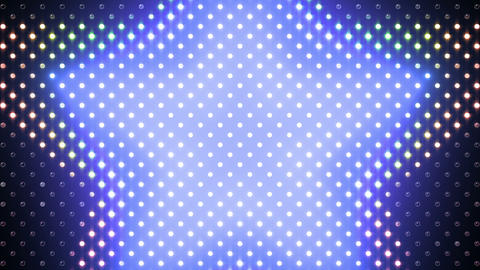 LED Wall 2 Star B Br HD Stock Video Footage