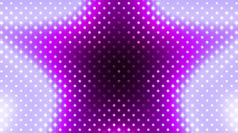 LED Wall 2 Star B Br HD Stock Video Footage