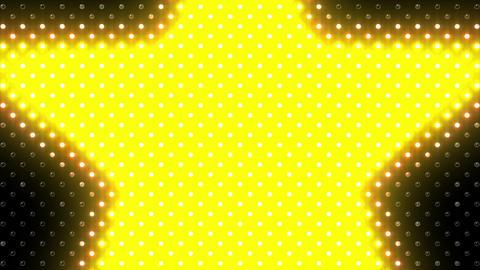LED Wall 2 Star B Cc HD Stock Video Footage