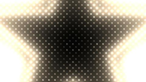 LED Wall 2 Star B Cw HD Stock Video Footage