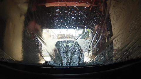 car wash Stock Video Footage