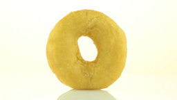 Donut turning Stock Video Footage